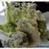 山野草の天ぷら